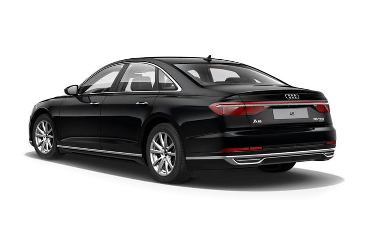 Audi A8 55 Saloon quattro LWB 4Dr 3.0 TFSI V6 340PS S line 4Dr Tiptronic [Start Stop] back view