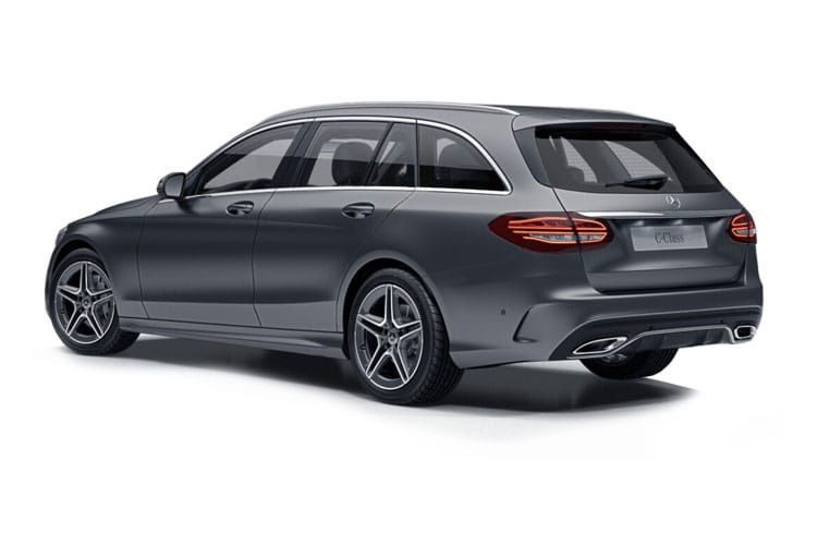 Mercedes-Benz C Class AMG C43 Estate 4MATIC 3.0 V6 390PS Edition Premium Plus 5Dr G-Tronic+ [Start Stop] back view