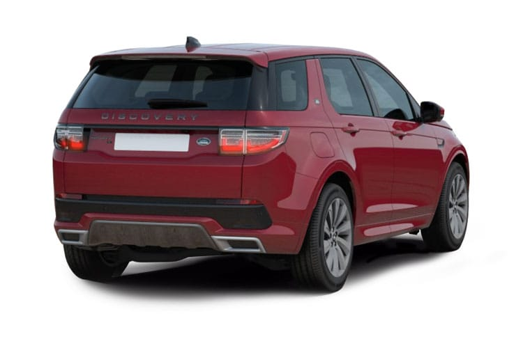 Land Rover Discovery Sport SUV 2.0 D MHEV 163PS R-Dynamic S Plus 5Dr Auto [Start Stop] [7Seat] back view