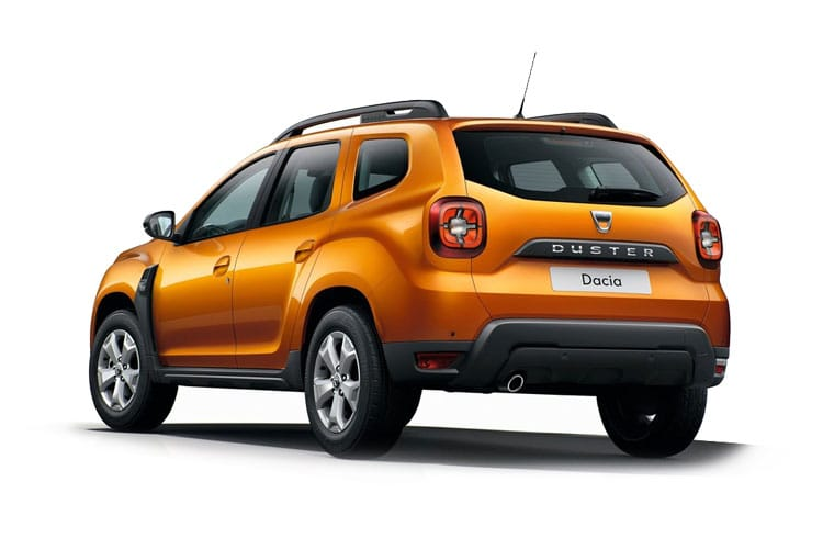 Dacia Duster SUV 4wd Selectable 1.5 Blue dCi 115PS Prestige 5Dr Manual [Start Stop] back view