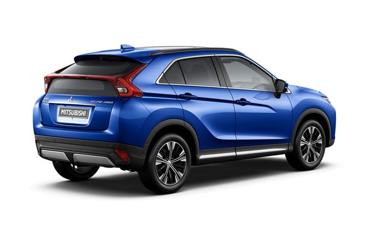 Mitsubishi Eclipse Cross SUV 1.5 T 163PS Design SE 5Dr CVT [Start Stop] back view