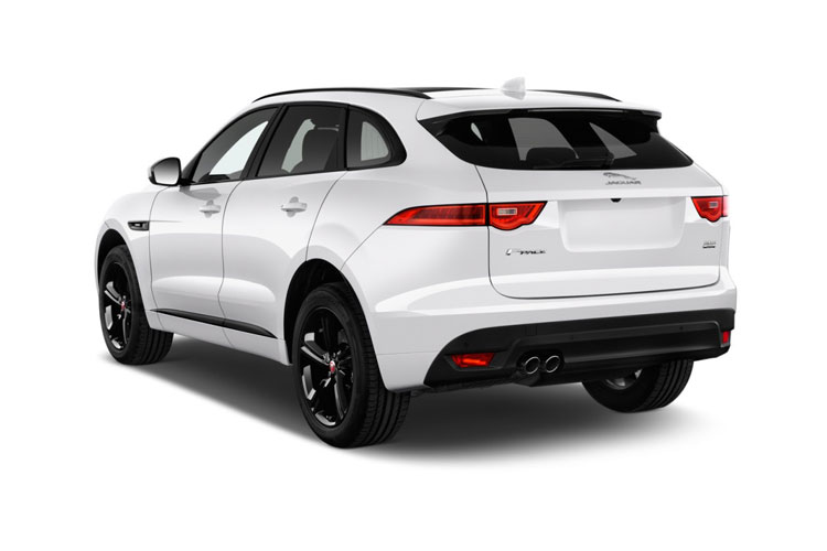 Jaguar F-PACE SUV AWD 2.0 d MHEV 163PS  5Dr Auto [Start Stop] back view