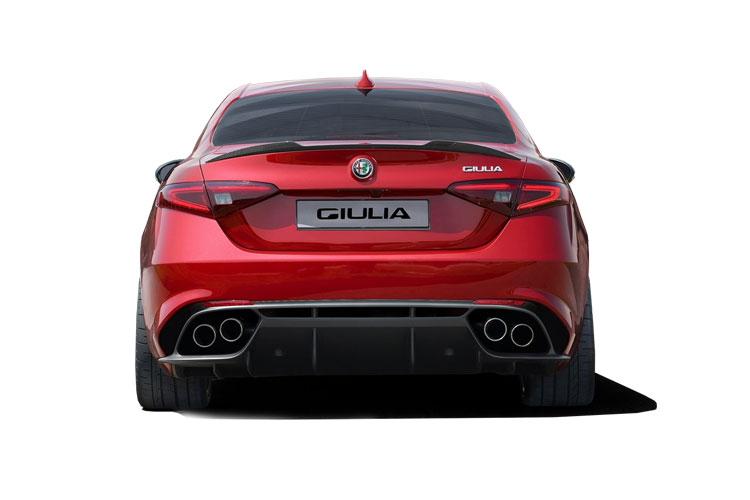Alfa Romeo Giulia Saloon 2.0 T 280PS Veloce Ti 4Dr Auto [Start Stop] back view