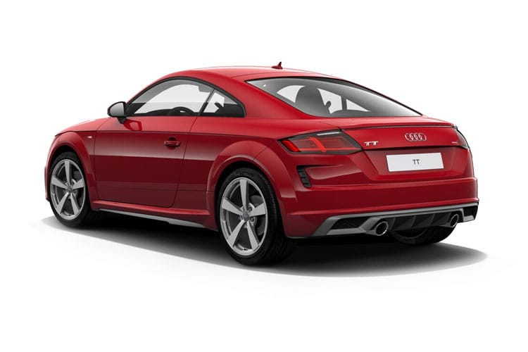 Audi TT 45 Coupe 2.0 TFSI 245PS S line 3Dr S Tronic [Start Stop] [Technology] back view