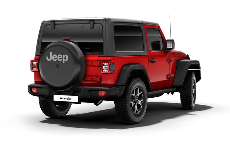 Jeep Wrangler SUV 4Dr 2.2 MultiJetII 200PS Rubicon 4Dr Auto [Start Stop] back view