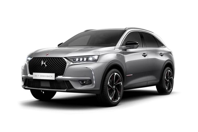 DS Automobiles DS 7 Crossback SUV 5Dr 1.6 E-TENSE PHEV 13.2kWh 225PS Prestige 5Dr EAT8 [Start Stop] front view