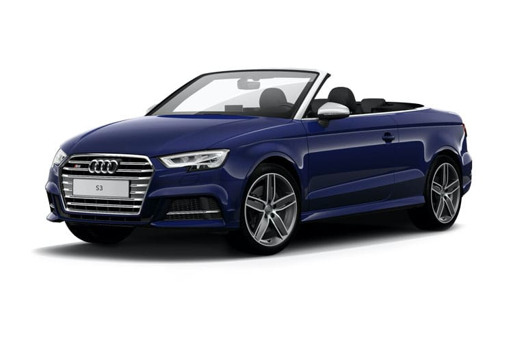 Audi A3 40 Cabriolet quattro 2Dr 2.0 TFSI 190PS S line 2Dr S Tronic [Start Stop] [Technology] front view