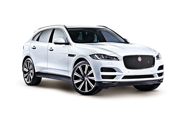 Jaguar F-PACE SUV AWD 2.0 d MHEV 163PS  5Dr Auto [Start Stop] front view