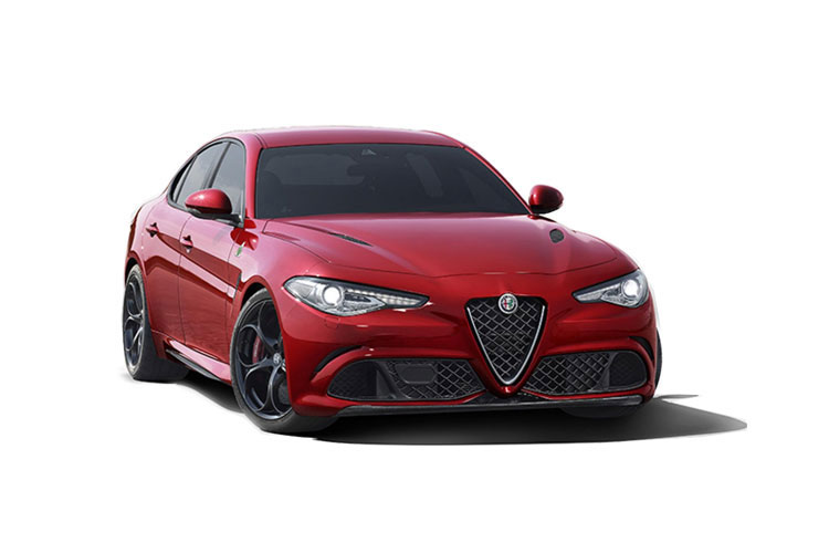 Alfa Romeo Giulia Saloon 2.9 V6 Bi-Turbo 510PS Quadrifoglio 4Dr Auto [Start Stop] front view