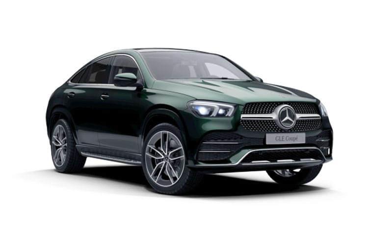 Mercedes-Benz GLE AMG GLE53 Coupe 4MATIC+ 3.0 MHEV 457PS Premium Plus 5Dr SpdS TCT [Start Stop] front view