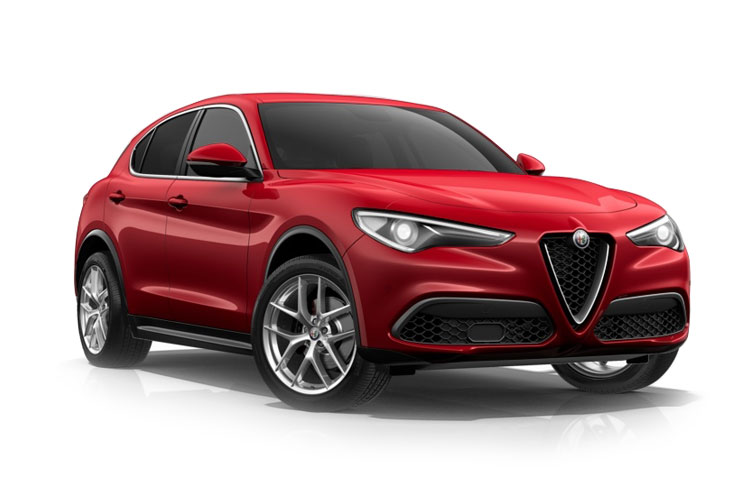 Alfa Romeo Stelvio SUV Q4 AWD 2.9 V6 Bi-Turbo 510PS Quadrifoglio 5Dr Auto [Start Stop] [Driver Assistance Plus] front view