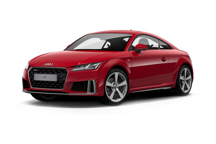 Audi TT 45 Coupe 2.0 TFSI 245PS S line 3Dr S Tronic [Start Stop] [Technology] front view