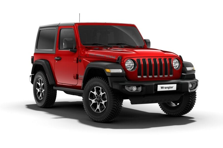Jeep Wrangler SUV 4Dr 2.2 MultiJetII 200PS Rubicon 4Dr Auto [Start Stop] front view