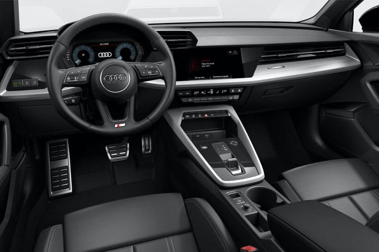 Audi A3 35 Sportback 5Dr 2.0 TDI 150PS S line 5Dr S Tronic [Start Stop] [Technology] inside view