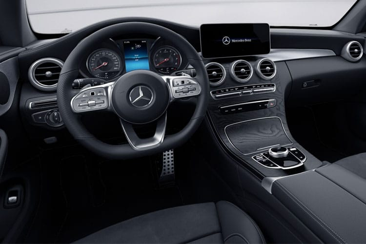 Mercedes-Benz C Class C200 Coupe 1.5 MHEV 198PS AMG Line Edition 2Dr G-Tronic+ [Start Stop] inside view