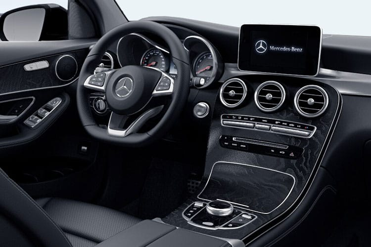 Mercedes-Benz GLC GLC300 Coupe 4MATIC 2.0 d 245PS AMG Line Premium 5Dr G-Tronic+ [Start Stop] inside view