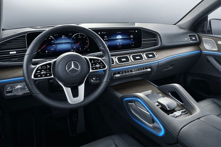 Mercedes-Benz GLE AMG GLE53 Coupe 4MATIC+ 3.0 MHEV 457PS Premium Plus 5Dr SpdS TCT [Start Stop] inside view