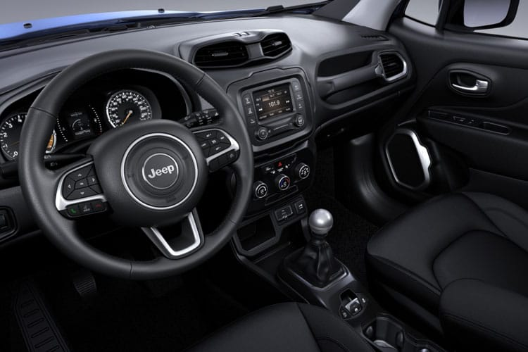 Jeep Renegade 4xe SUV 1.3 GSE T4 PHEV 11kWh 190PS Longitude 5Dr Auto [Start Stop] inside view