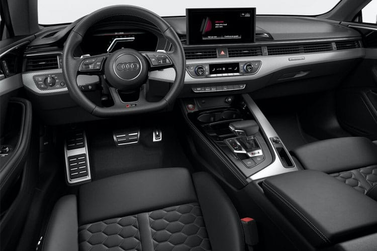 Audi A5 40 Coupe 2Dr 2.0 TFSI 190PS Black Edition 2Dr Manual [Start Stop] [Technology] inside view
