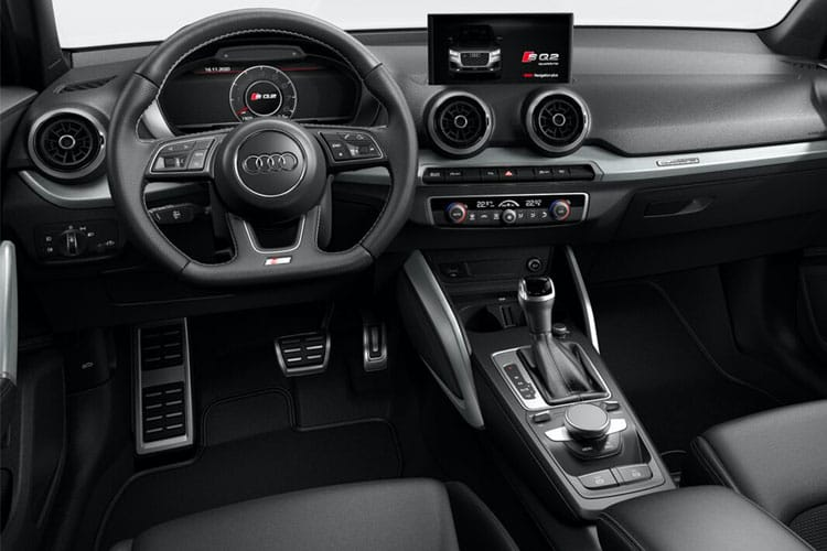 Audi Q2 35 SUV 5Dr 1.5 TFSI CoD 150PS Black Edition 5Dr Manual [Start Stop] [Comfort Sound] inside view