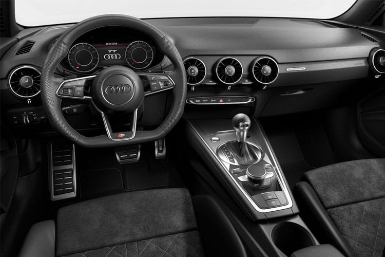 Audi TT 45 Coupe 2.0 TFSI 245PS S line 3Dr S Tronic [Start Stop] [Technology] inside view