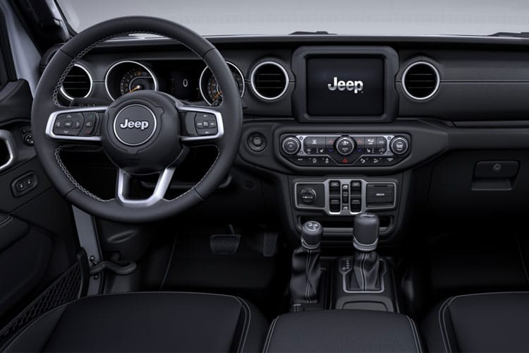 Jeep Wrangler SUV 2Dr 2.0 GME 272PS Rubicon 2Dr Auto [Start Stop] inside view